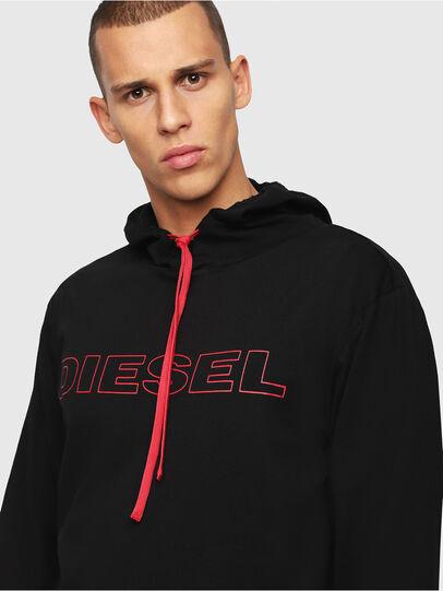 Diesel - UMLT-JIMMY, Nero/Rosso - T-Shirts - Image 3
