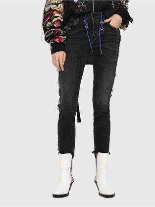 Babhila 081AH, Nero/Grigio scuro - Jeans
