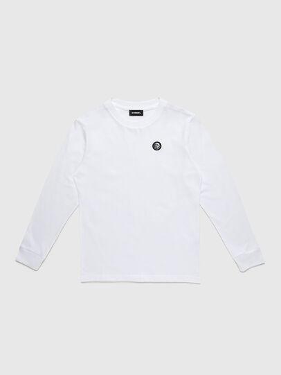 Diesel - TFREDDY ML, Bianco - T-shirts e Tops - Image 1