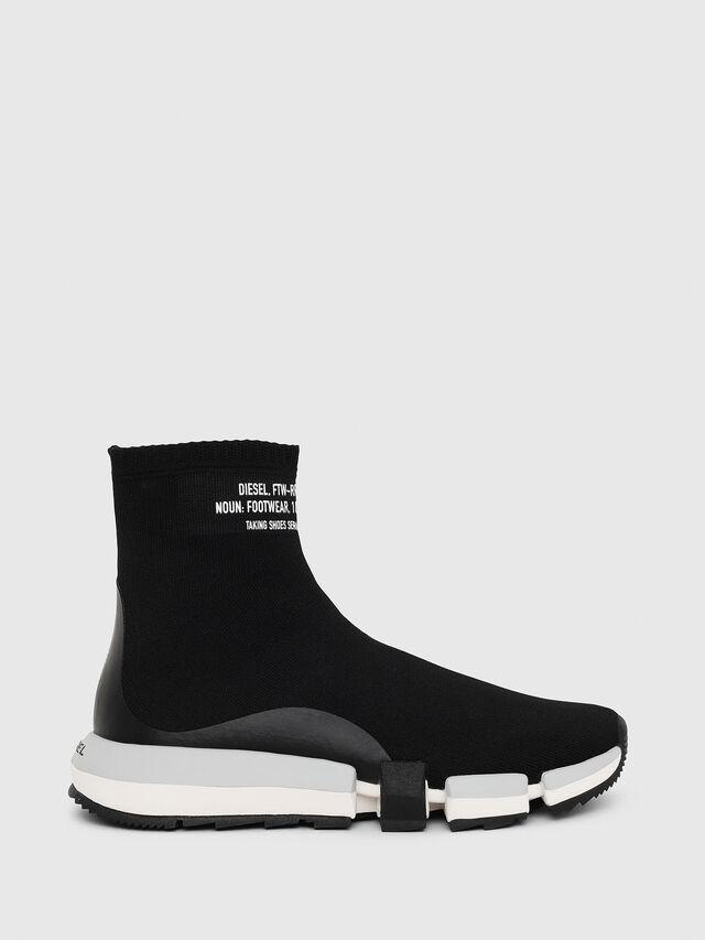 Diesel - H-PADOLA HIGH SOCK W, Nero - Sneakers - Image 1
