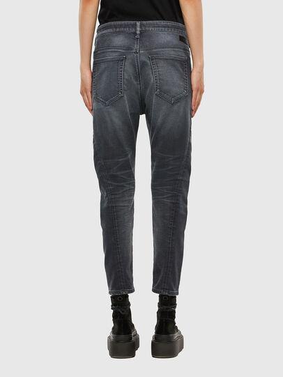 Diesel - FAYZA JoggJeans® 069QA, Nero/Grigio scuro - Jeans - Image 2