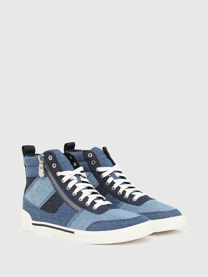 Diesel - S-DVELOWS MID CUT, Blu - Sneakers - Image 2