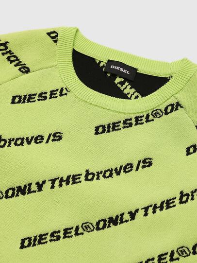Diesel - KDAVIS, Verde Fluo - Maglieria - Image 3