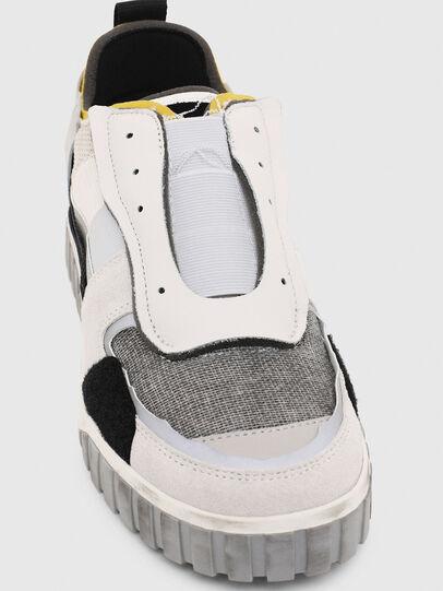 Diesel - S-RUA LOW DEC, Bianco - Sneakers - Image 6