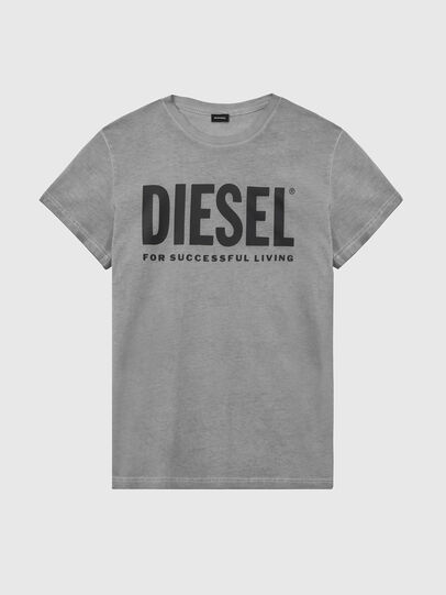 Diesel - T-SILY-WX, Grigio scuro - T-Shirts - Image 1