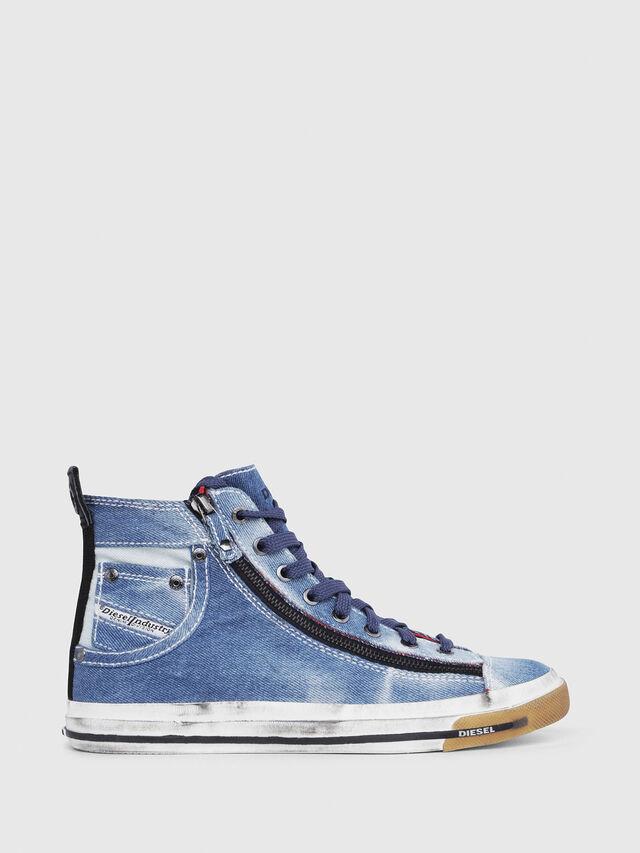 Diesel - EXPO-ZIP W, Blu Jeans - Sneakers - Image 1