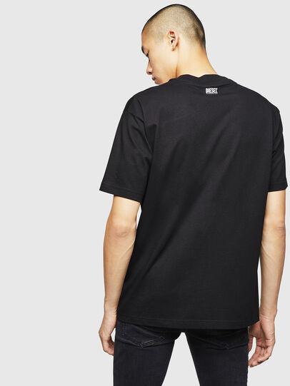 Diesel - T-LUCAS-NML-B1, Nero - T-Shirts - Image 2