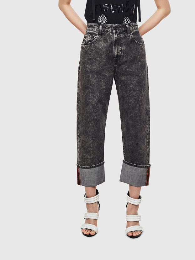 D-Reggy 0099F, Nero/Grigio scuro - Jeans