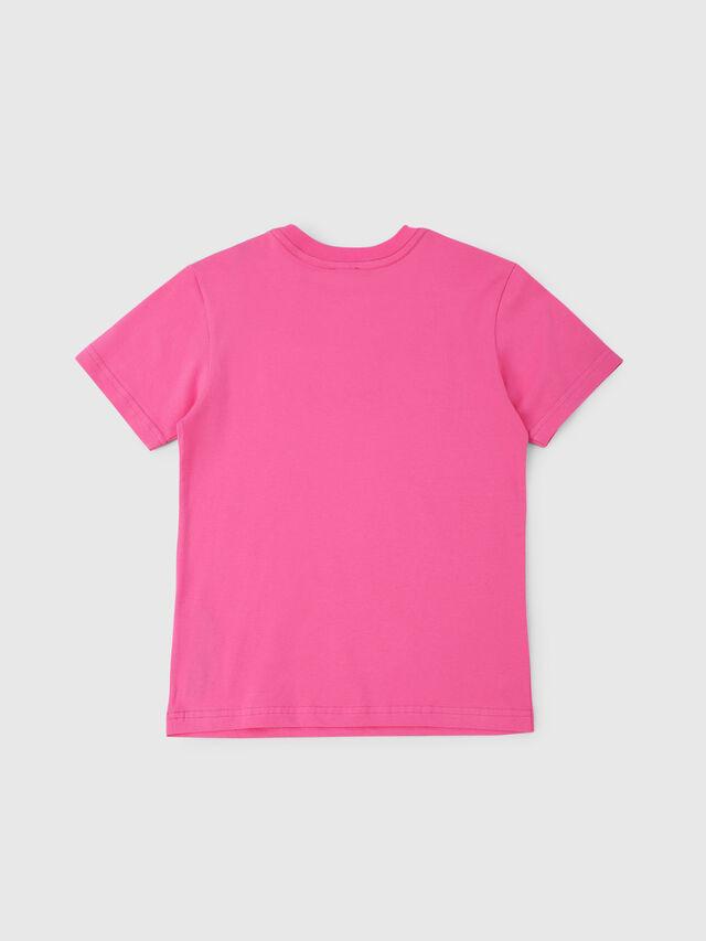 Diesel - TJUSTDIVISION, Fucsia - T-shirts e Tops - Image 2