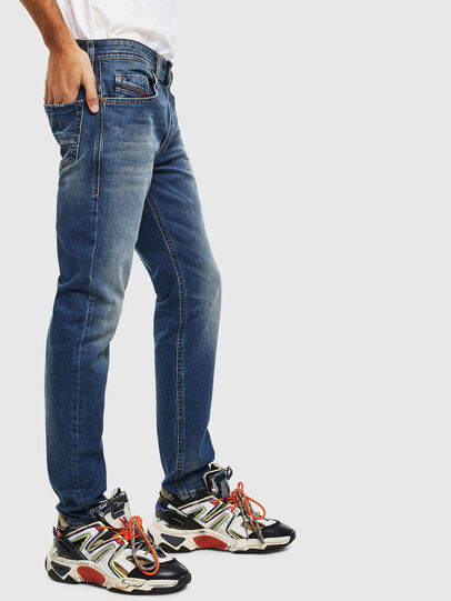 Diesel - Thommer 089AR, Blu Scuro - Jeans - Image 4