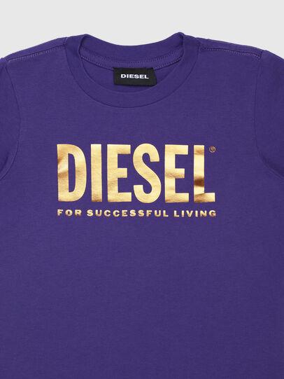 Diesel - TJUSTLOGOB-FL ML-R, Viola - T-shirts e Tops - Image 3