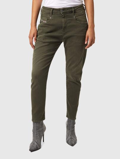 Diesel - Fayza JoggJeans® Z670M, Verde Militare - Jeans - Image 1