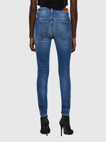 Diesel - Slandy High 009QS, Blu Chiaro - Jeans - Image 2