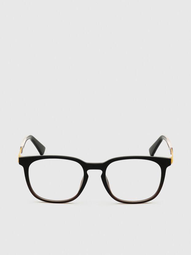 DL5349, Nero/Giallo - Occhiali da vista