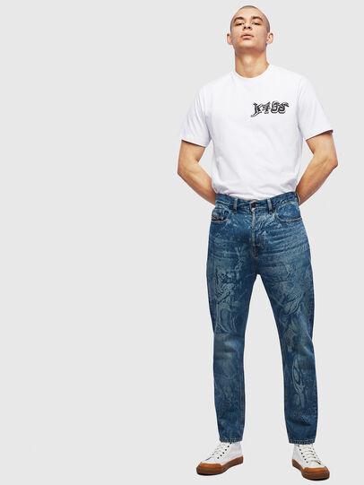 Diesel - T-JUST-T31, Bianco - T-Shirts - Image 6
