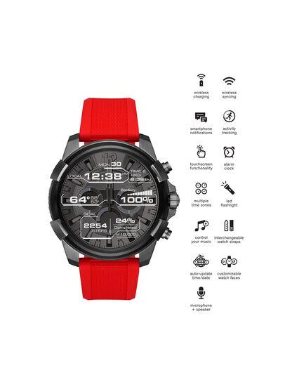 Diesel - DT2006, Rosso - Smartwatches - Image 4