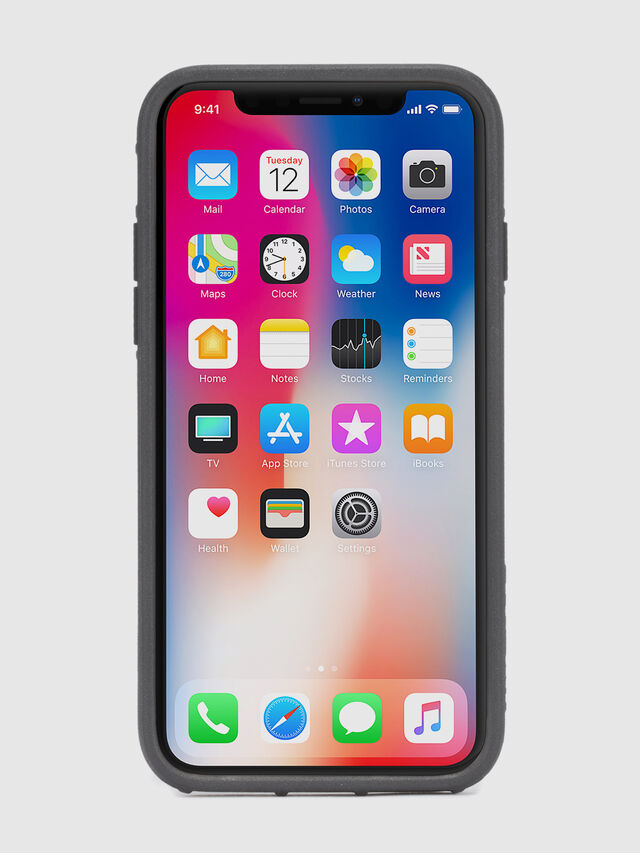 Diesel - STICKER IPHONE X CASE, Nero - Cover - Image 6