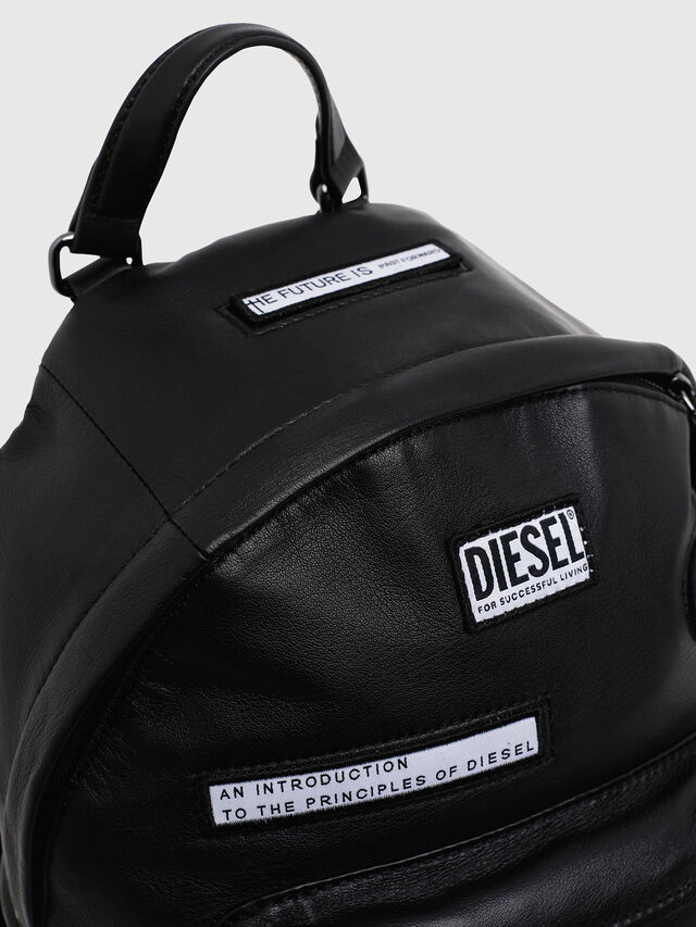 Diesel - LE-ZIPPER BACKPACK, Nero - Zaini - Image 3