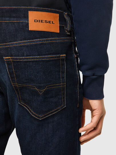 Diesel - D-Luster 009ZS, Blu Scuro - Jeans - Image 3