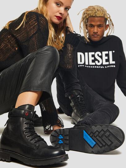 Diesel - D-THROUPER DBB W Z, Nero - Stivaletti - Image 5