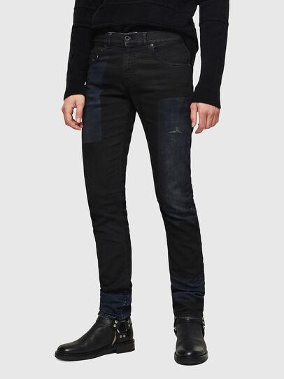 Diesel - TYPE-2813FS-NE, Blu Scuro - Jeans - Image 1