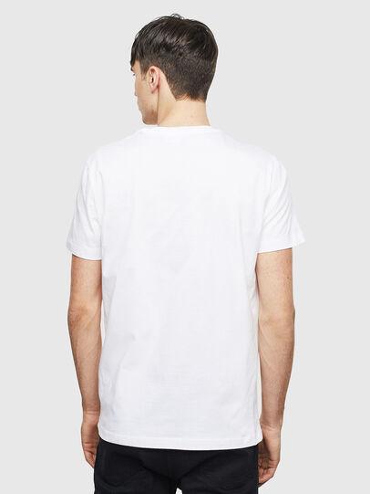 Diesel - T-DIEGO-S15, Bianco - T-Shirts - Image 2