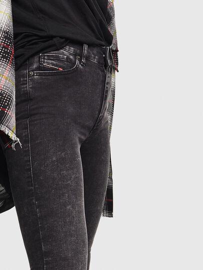 Diesel - D-Roisin 069FW, Nero/Grigio scuro - Jeans - Image 4