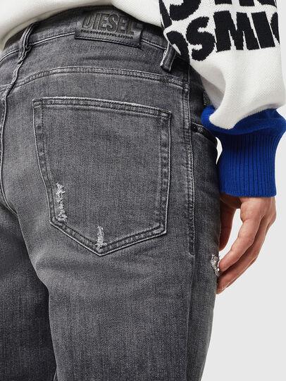 Diesel - D-Eetar 0890F, Grigio Chiaro - Jeans - Image 5
