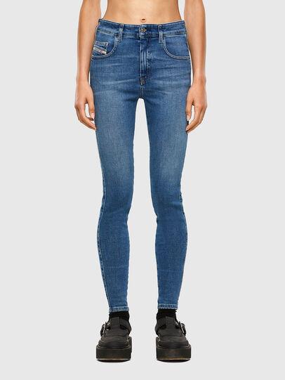 Diesel - Slandy High 009AG, Blu medio - Jeans - Image 1
