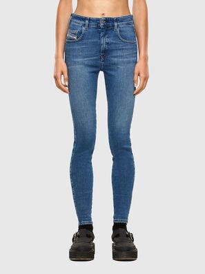 Slandy High 009AG, Blu medio - Jeans