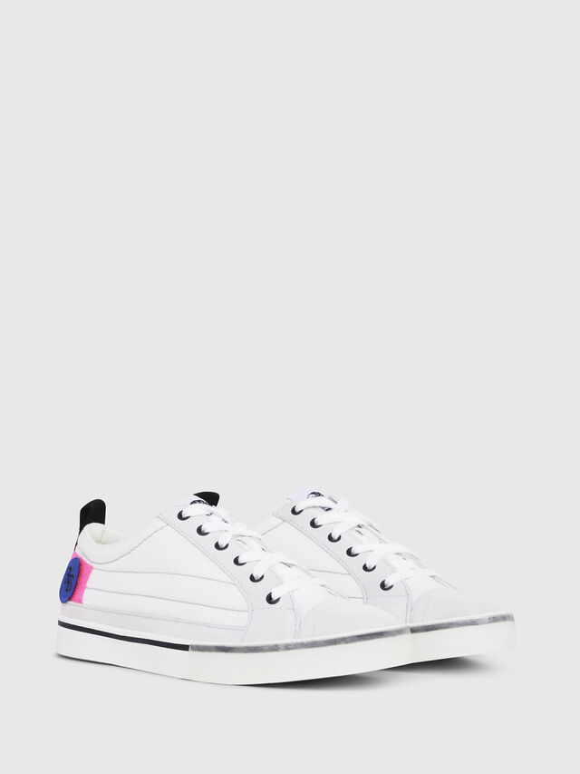 Diesel - D-VELOWS LOW PATCH W, Bianco - Sneakers - Image 2