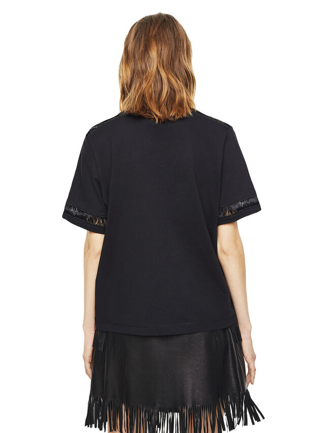 Diesel - TREENA, Nero - T-Shirts - Image 2