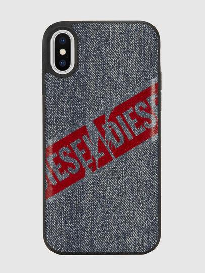 Diesel - VINTAGE DENIM IPHONE X CASE, Blu Jeans - Cover - Image 2