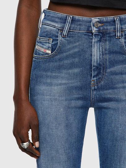 Diesel - Slandy High 009QS, Blu Chiaro - Jeans - Image 4