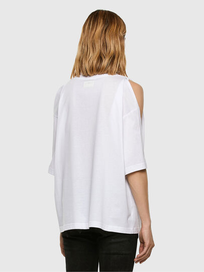 Diesel - T-RASSEL, Bianco - T-Shirts - Image 7