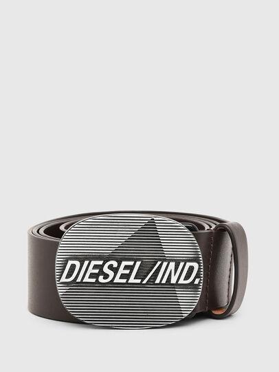 Diesel - B-DIELIND, Marrone - Cinture - Image 1