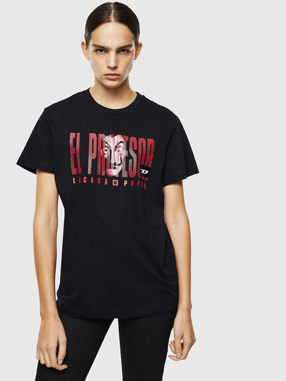 Diesel - LCP-T-DIEGO-ELPROFES, Nero - T-Shirts - Image 2