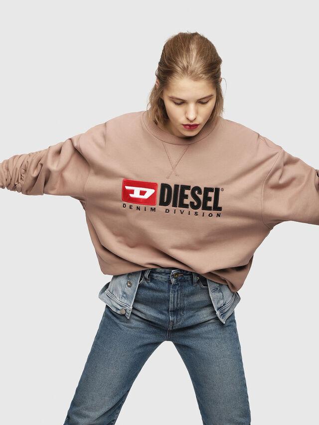 Diesel - F-ARAP, Cipria - Felpe - Image 3