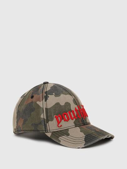 Diesel - C-RIPCA-A, Verde Militare - Cappelli - Image 1