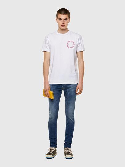 Diesel - T-DIEGOS-B7, Bianco - T-Shirts - Image 4
