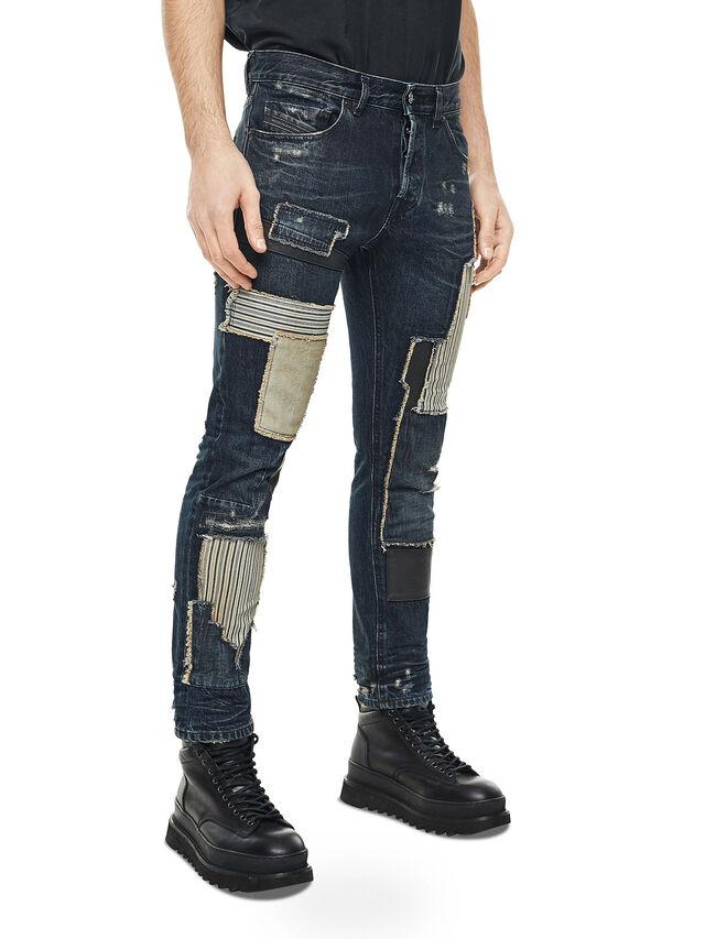 Diesel - TYPE-2813D, Blu Scuro - Jeans - Image 3
