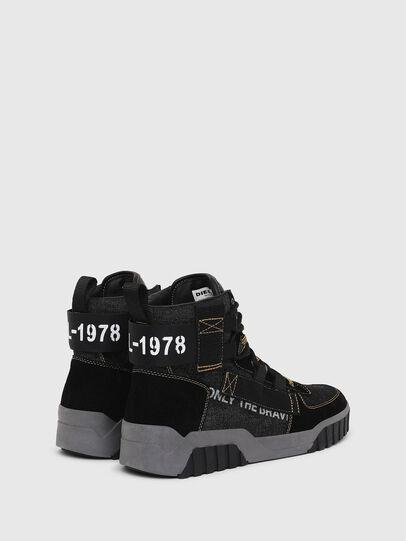 Diesel - S-RUA MID SP, Nero - Sneakers - Image 3
