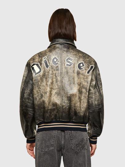 Diesel - DxD-2, Nero - Giacche di pelle - Image 5