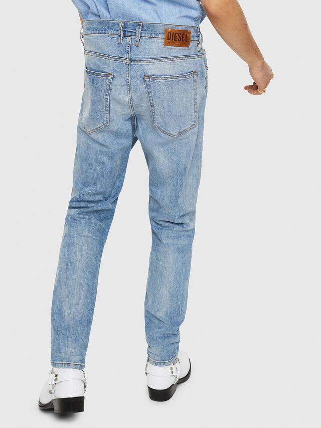 Diesel - D-Vider 081AL, Blu Chiaro - Jeans - Image 2