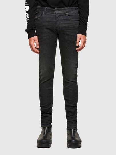 Diesel - Sleenker 009LY, Nero/Grigio scuro - Jeans - Image 1