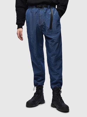 P-BERG, Blu - Pantaloni