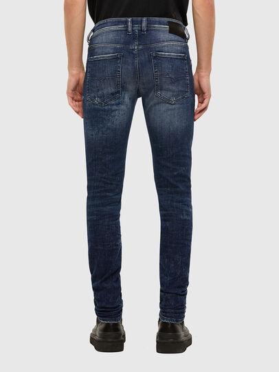 Diesel - Sleenker 009JM, Blu Scuro - Jeans - Image 2