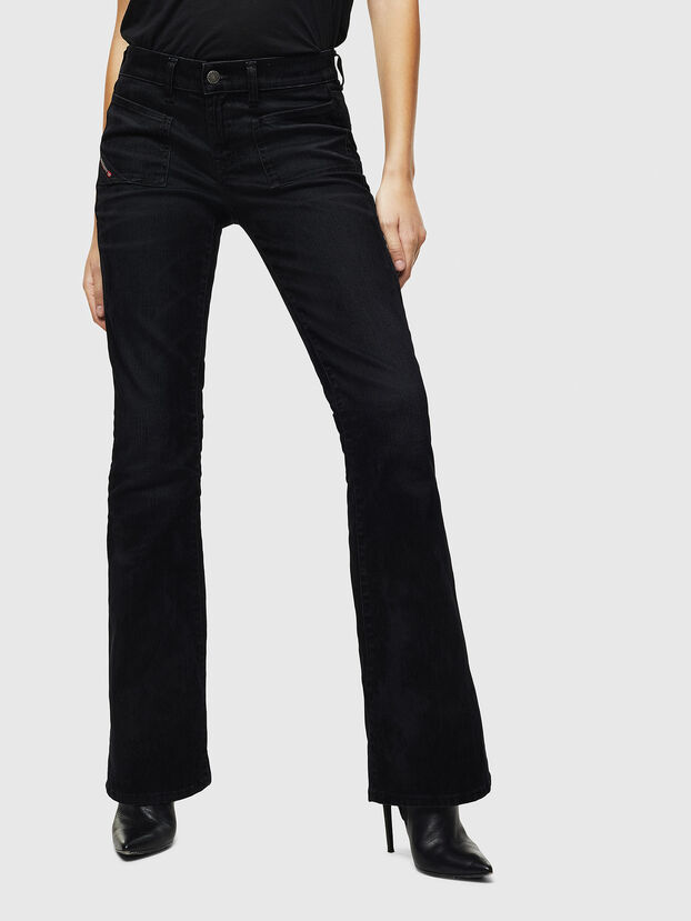 D-Ebbey 0091I, Nero/Grigio scuro - Jeans