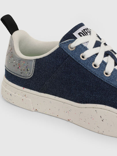 Diesel - S-CLEVER LOW LACE, Blu - Sneakers - Image 4