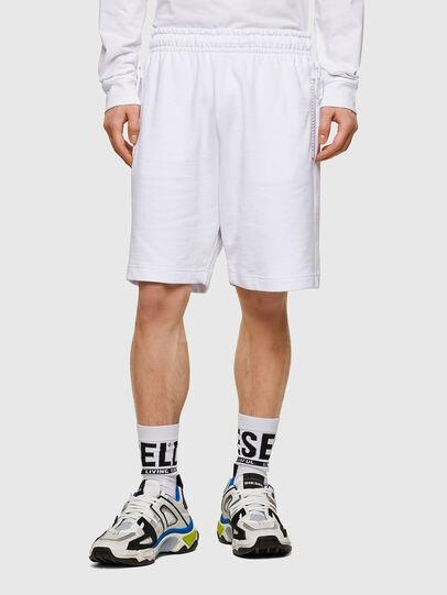 Diesel - P-HORTY, Bianco - Shorts - Image 1